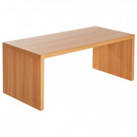 Lot de 3 Tables Basses Encastrables blanc et gris
