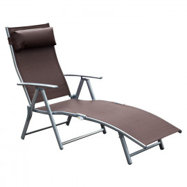 Chaise Longue Marron