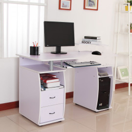 Bureau informatique AZOR Blanc