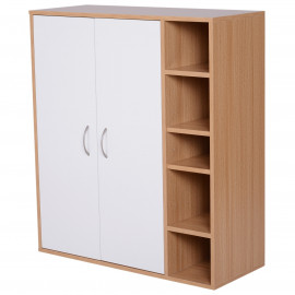 Commode de Rangement 2 Portes Spacy