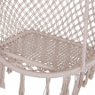 CHAISE SUSPENDUE PIVOTANTE LIGHT BEIGE