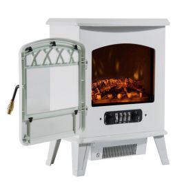 Cheminée Electrique Imitation Flamme Métal – HOTFIA