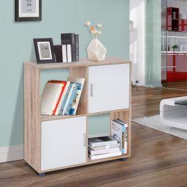 Bibliothèque Etagère blanche Smart