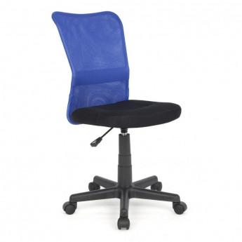 Chaise de bureau Flo Bleue/Noire