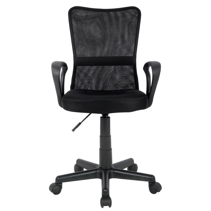 chaise de bureau mio noire. Black Bedroom Furniture Sets. Home Design Ideas