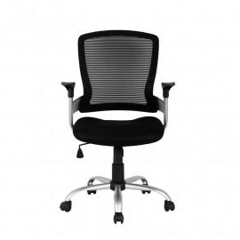 Chaise de bureau Juan Noire