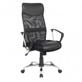 Chaise de bureau pivotante Tao V1 Noire