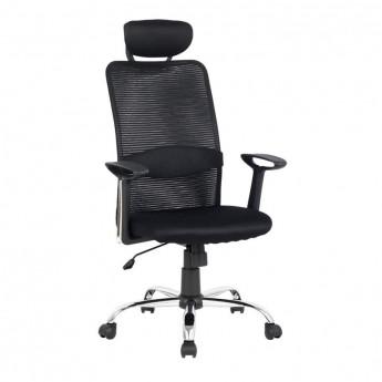 Chaise de bureau pivotante Noire