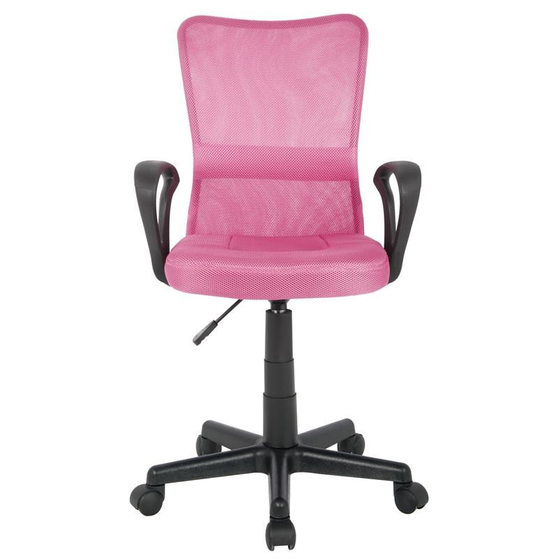 chaise de bureau mio rose. Black Bedroom Furniture Sets. Home Design Ideas
