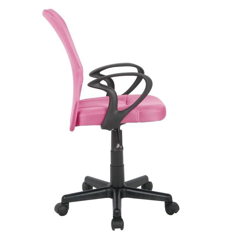 Chaise de bureau mio rose - Chaise de bureau rose ...