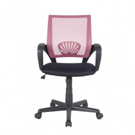 Chaise de bureau Rose/Noire