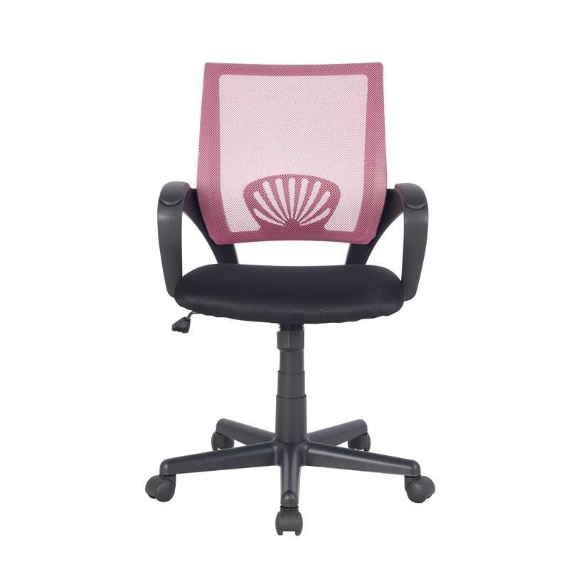 chaise de bureau joe rose noire. Black Bedroom Furniture Sets. Home Design Ideas