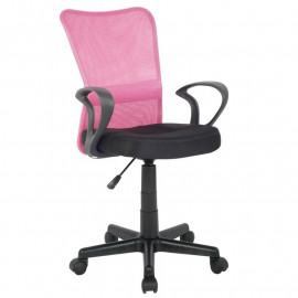 Chaise de bureau Mio Rose/Noire
