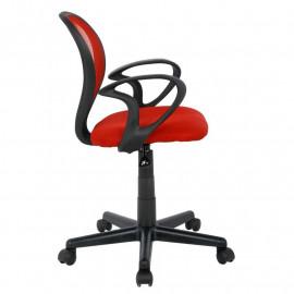 Chaise de bureau Rouge/Noire