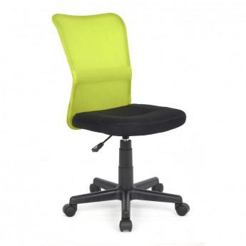 Chaise de bureau Flo Verte/Noire