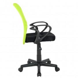 Chaise de bureau Mio Verte/Noire