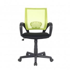 Chaise de bureau Joe Verte/Noire