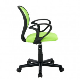 Chaise de bureau Zoe Verte/Noire