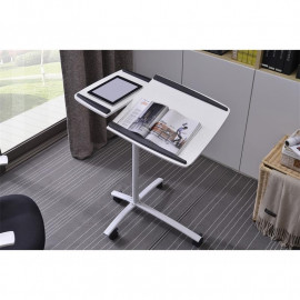 Table d'appoint informatique Pilo Blanche
