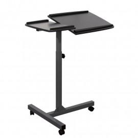 Table d'appoint informatique Noire