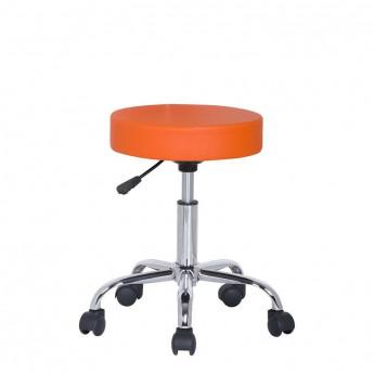 Tabouret à roulettes/de travail Kopa Orange