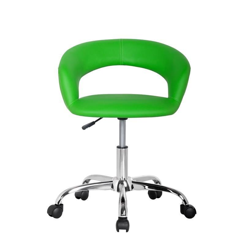 tabouret roulettes hector vert. Black Bedroom Furniture Sets. Home Design Ideas