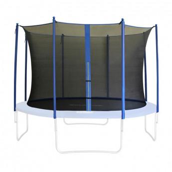 Filet de sécurité de rechange noir pour trampoline de jardin 1,85 M - 4,60 M - dimensions différente
