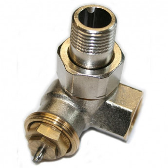 Thermostatventil - Winkel Links 1/2-