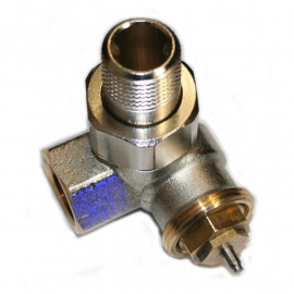 Thermostatventil - Winkel Rechts 1/2- - 1/2-