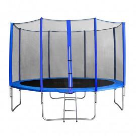 MyJump 4,00 M Trampoline de jardin bleu - MYCO00681