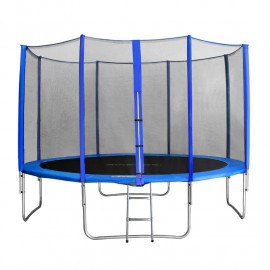 MyJump 4,00 M Trampoline de jardin bleu