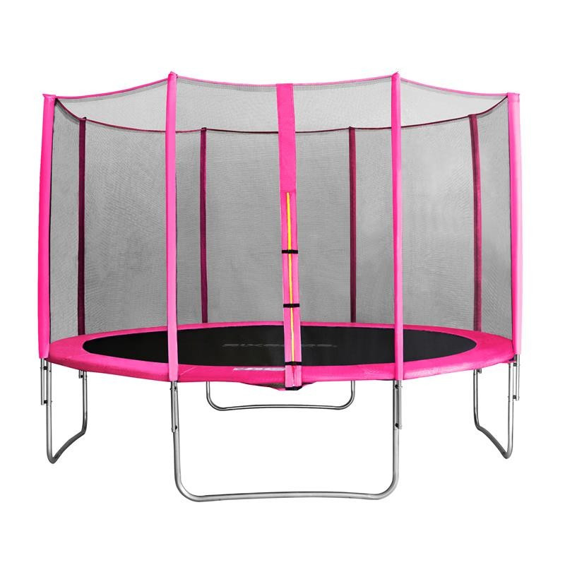 myjump 4 00 m trampoline de jardin rose. Black Bedroom Furniture Sets. Home Design Ideas