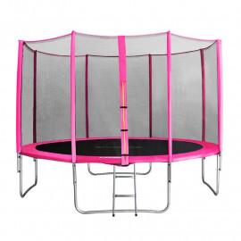 MyJump 4,00 M Trampoline de jardin rose - MYCO00694