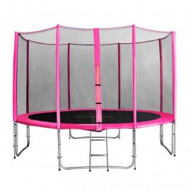 MyJump 4,00 M Trampoline de jardin rose - MYCO00695