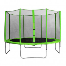 MyJump 4,00 M Trampoline de jardin vert