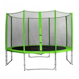 MyJump 4,00 M Trampoline de jardin vert - MYCO00701