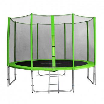 MyJump 4,00 M Trampoline de jardin vert - MYCO00703