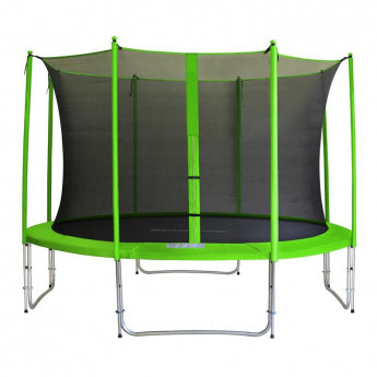 MyJump 4,00 M Trampoline de jardin vert - MYCO00705