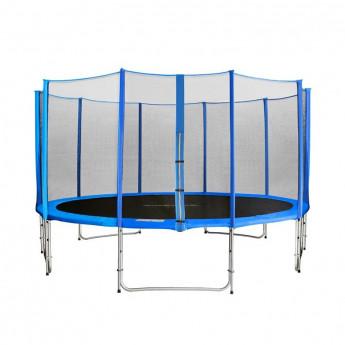 MyJump 4,30 M Trampoline de jardin bleu - MYCO00708