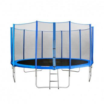 MyJump 4,30 M Trampoline de jardin bleu - MYCO00709