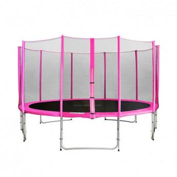MyJump 4,30 M Trampoline de jardin rose - MYCO00719