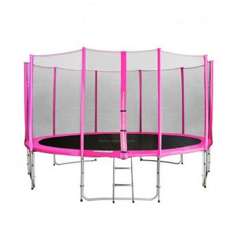 MyJump 4,30 M Trampoline de jardin rose - MYCO00721