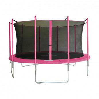 MyJump 4,30 M Trampoline de jardin rose v1