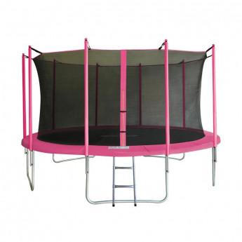 MyJump 4,30 M Trampoline de jardin rose - MYCO00724