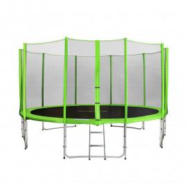 MyJump 4,30 M Trampoline de jardin vert - MYCO00726