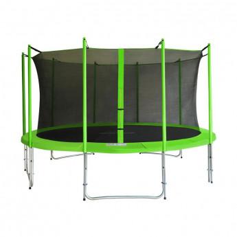 MyJump 4,30 M Trampoline de jardin vert - MYCO00728