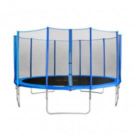 MyJump 4,30 M Trampoline pour le jardin bleu