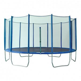 MyJump 4,35 M Trampoline de jardin bleu