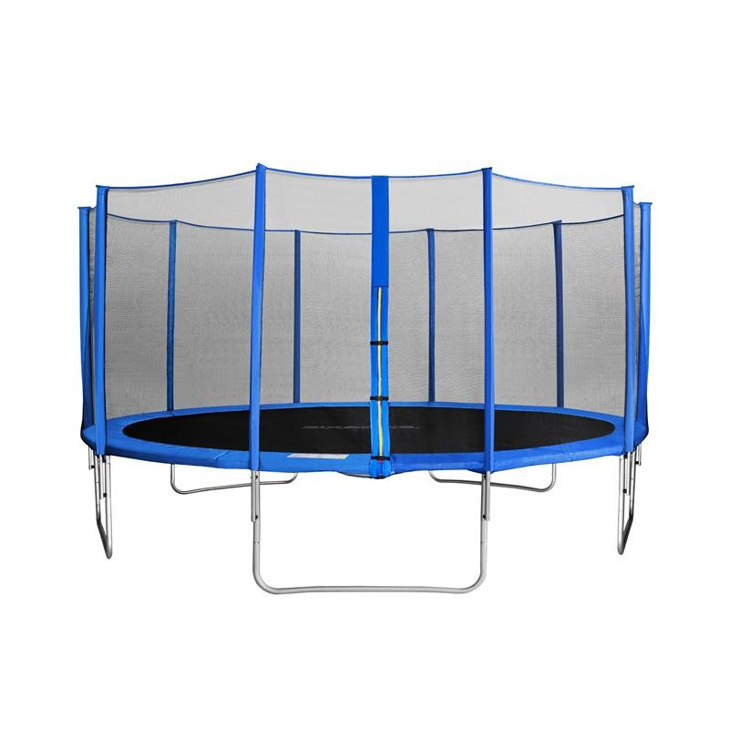 myjump 4 60 m trampoline de jardin bleu. Black Bedroom Furniture Sets. Home Design Ideas
