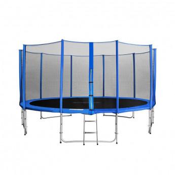 MyJump 4,60 M Trampoline de jardin bleu - MYCO00738